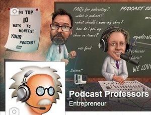 Podcast Professors Entrepreneurs