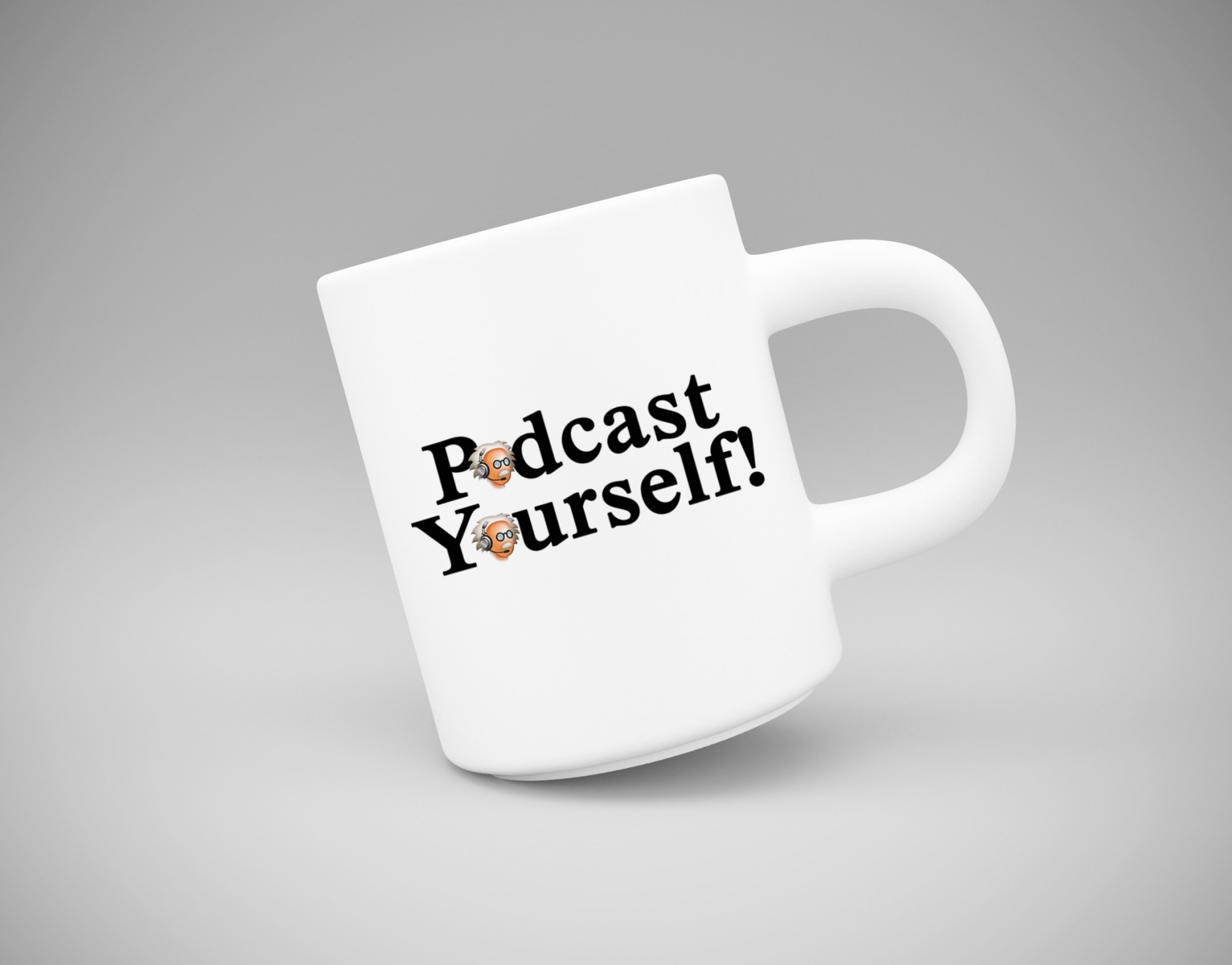 podcast yourself mug